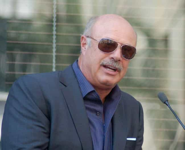 Phil McGraw is listed (or ranked) 3 on the list The Most Impressive TV Personality Mustaches