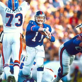 Phil Simms is listed (or ranked) 11 on the list The Most Overlooked Quarterbacks of All Time