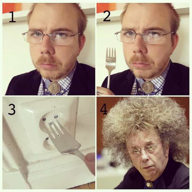 Phil Spector is listed (or ranked) 4 on the list 60+ Unbelievable #MakeupTransformations