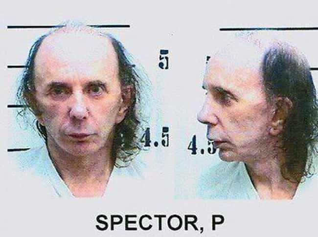 Phil Spector is listed (or ranked) 2 on the list 20 Craziest Rock Star Arrests