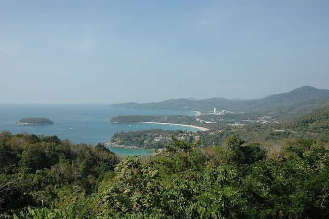 Phuket is listed (or ranked) 4 on the list The Best Tropical Destinations
