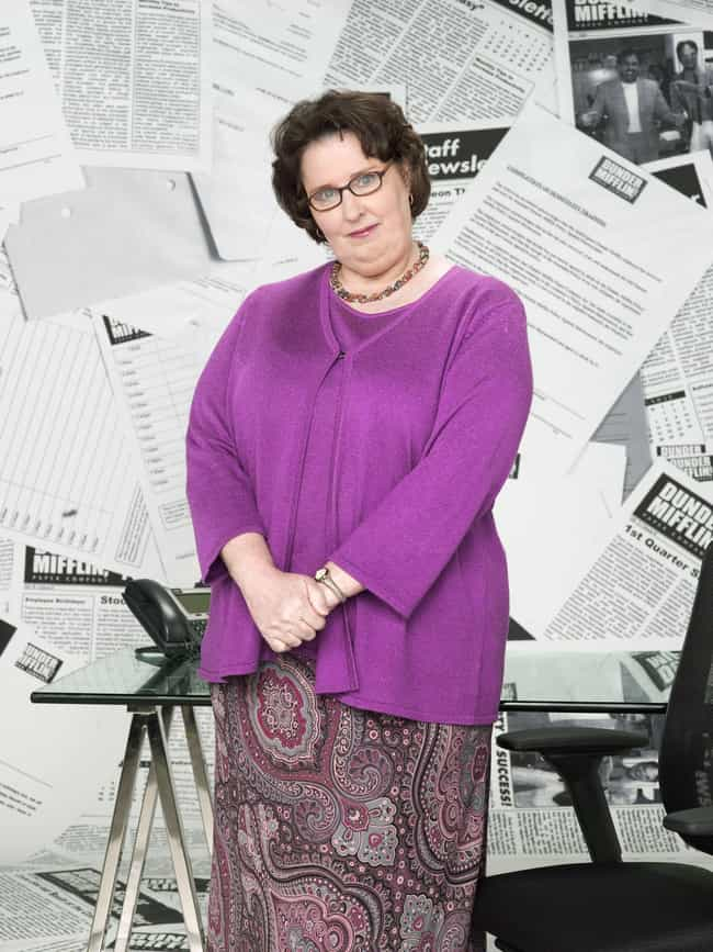 Phyllis Lapin-Vance is listed (or ranked) 1 on the list How The Characters On 'The Office' Represent The Seven Deadly Sins