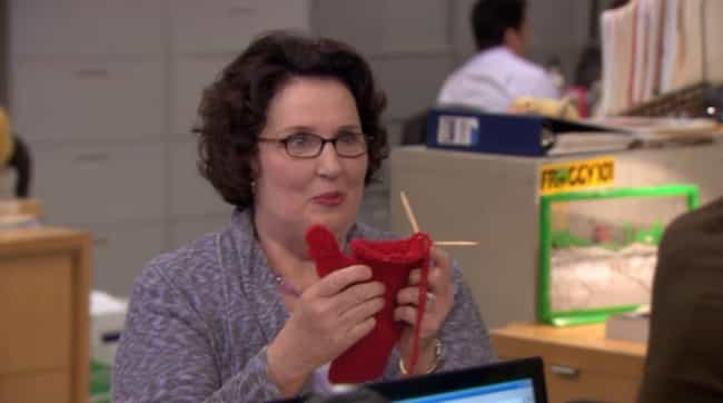 Phyllis Lapin-Vance is listed (or ranked) 4 on the list Which Member Of 'The Office' Are You, According To Your Zodiac Sign?