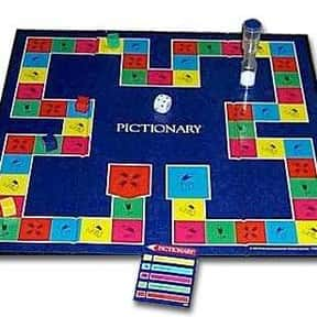 Pictionary is listed (or ranked) 2 on the list The Best Board Games for Parties
