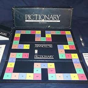 Pictionary is listed (or ranked) 9 on the list The Best Family Board Games