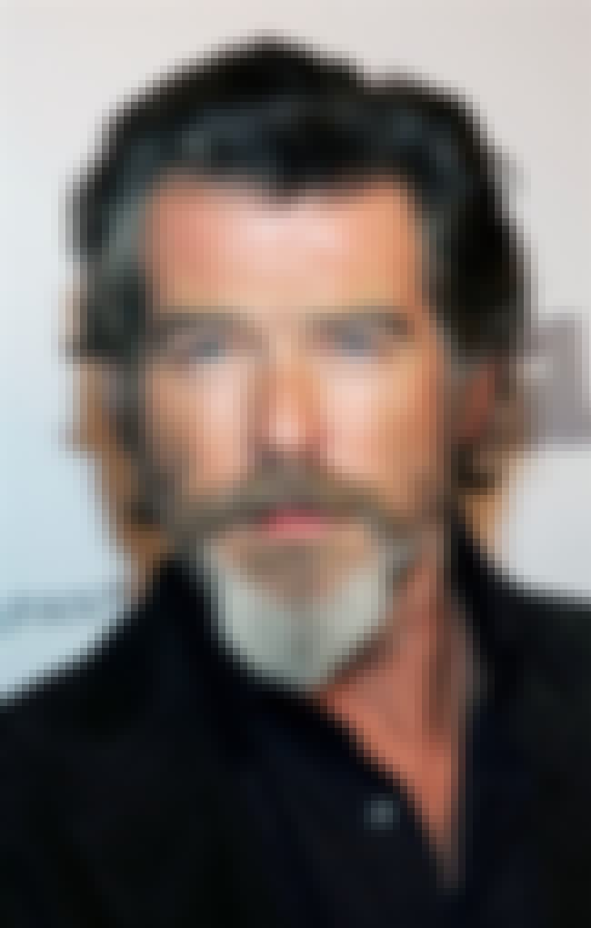 Pierce Brosnan is listed (or ranked) 3 on the list The Best Celebrity Retirement Beards