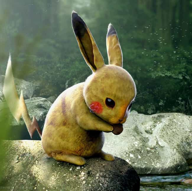 Pikachu is listed (or ranked) 2 on the list This Artist Created 3D Pokemon Renders That Will Blow You Away