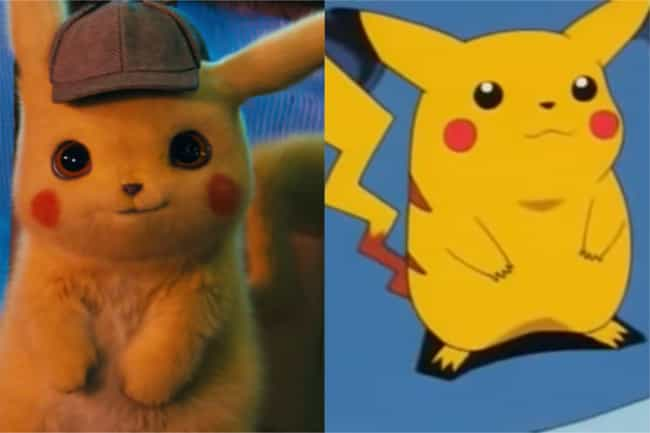 Pikachu is listed (or ranked) 2 on the list How The 'Detective Pikachu' Pokémon Compare To Their Anime Counterparts