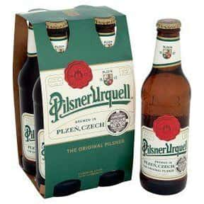 Pilsner Urquell is listed (or ranked) 25 on the list The Best Beer Brands
