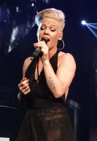 P!nk Requires A Nipple Pincher is listed (or ranked) 1 on the list 15 Ridiculous Jobs Celebrities Reportedly Employ People To Do