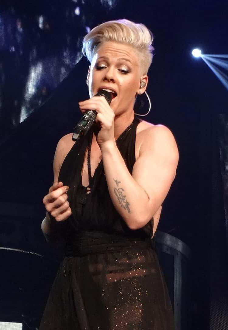 P!nk Requires A Nipple Pincher To Get Her Amped For Performances