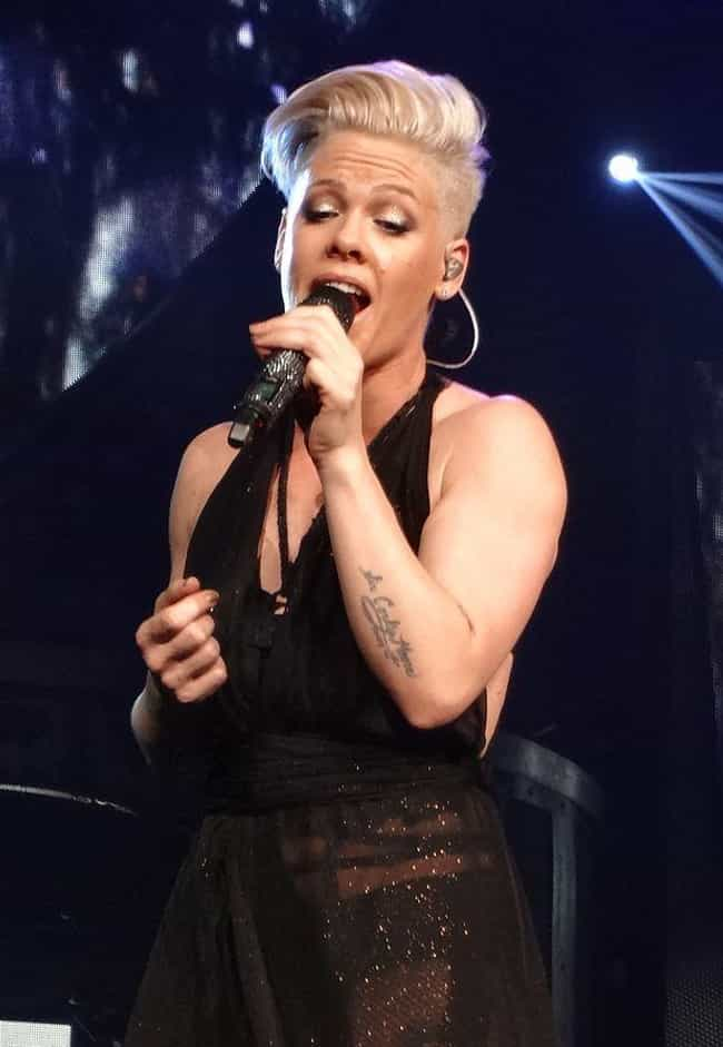 P!nk is listed (or ranked) 1 on the list 15 Ridiculous Jobs Celebrities Reportedly Employ People To Do