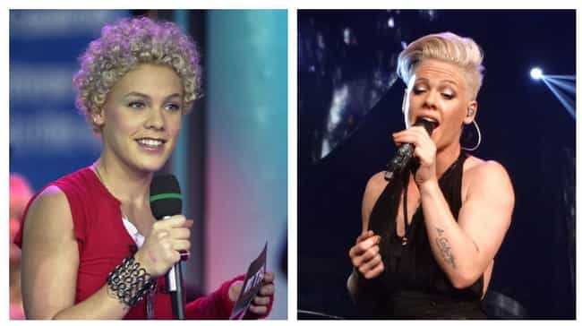 P!nk is listed (or ranked) 2 on the list What Celebrities Looked Like On TRL Vs. What They Look Like Today
