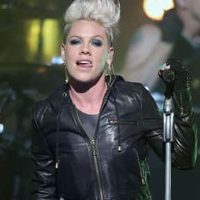P!nk is listed (or ranked) 3 on the list The Best Current Female Singers