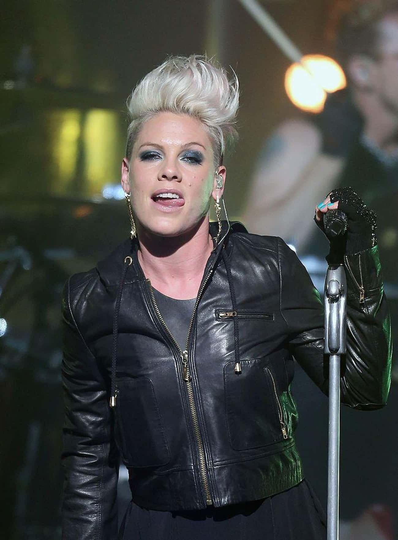 P!nk is listed (or ranked) 4 on the list Twitter Rankings: Top Twitter Celebrities