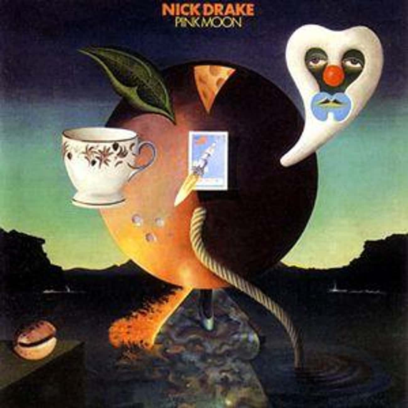 Nick Drake - 'Pink Moon&#3 is listed (or ranked) 3 on the list The 12 Strangest Albums With Rabid Cult Followings