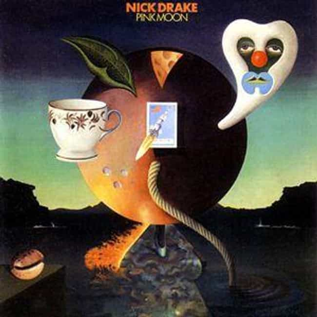 Pink Moon is listed (or ranked) 2 on the list The 12 Strangest Albums With Rabid Cult Followings
