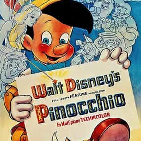 Pinocchio is listed (or ranked) 15 on the list Disney Movies with the Best Soundtracks, Ranked