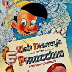 Pinocchio is listed (or ranked) 22 on the list The Best Cat Movies