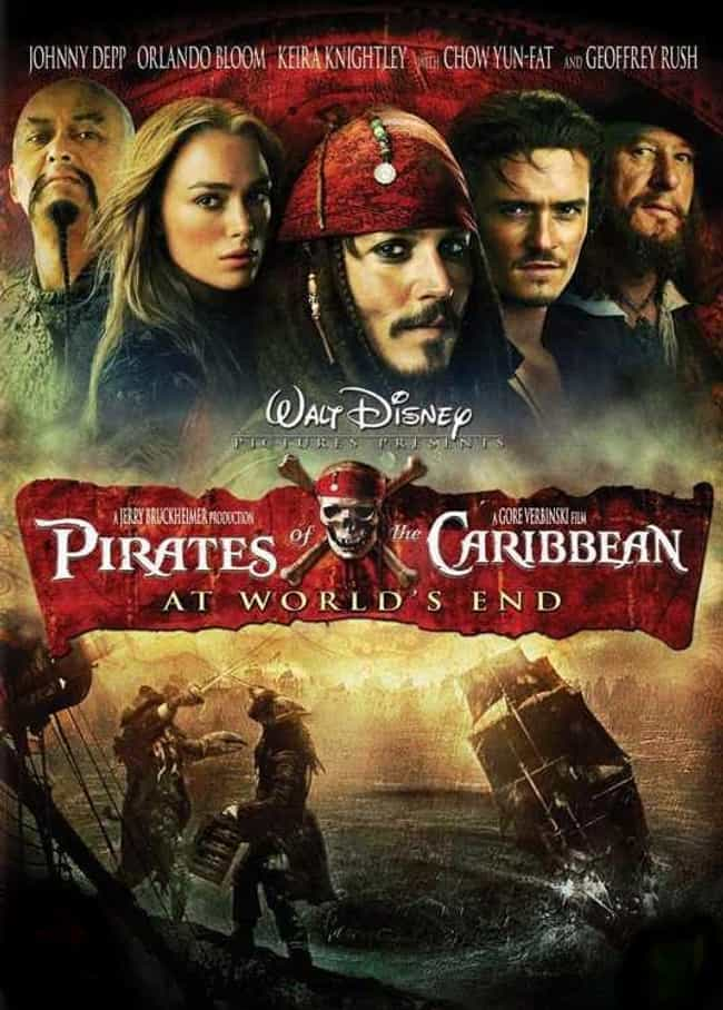 Pirates of the Caribbean: At W... is listed (or ranked) 2 on the list The Best 'Pirates of the Caribbean' Movies