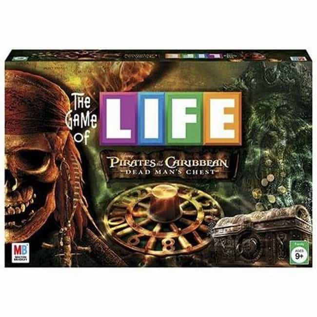 Pirates of the Caribbean... is listed (or ranked) 4 on the list The Best Editions of The Game of Life