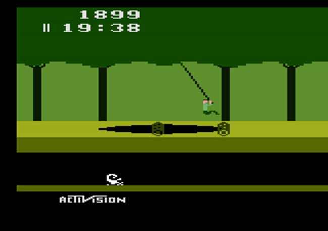 Pitfall! is listed (or ranked) 3 on the list What Was The Most Popular Video Game The Year You Were Born?