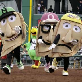 The Pierogis is listed (or ranked) 18 on the list The Best Mascots in Major League Baseball