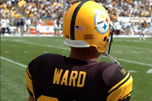 Pittsburgh Steelers is listed (or ranked) 4 on the list The Best Uniforms in the NFL