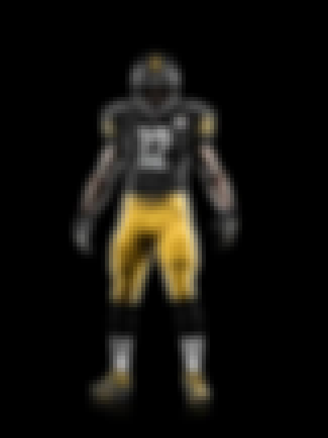 Pittsburgh Steelers is listed (or ranked) 2 on the list The Best Uniforms in the NFL