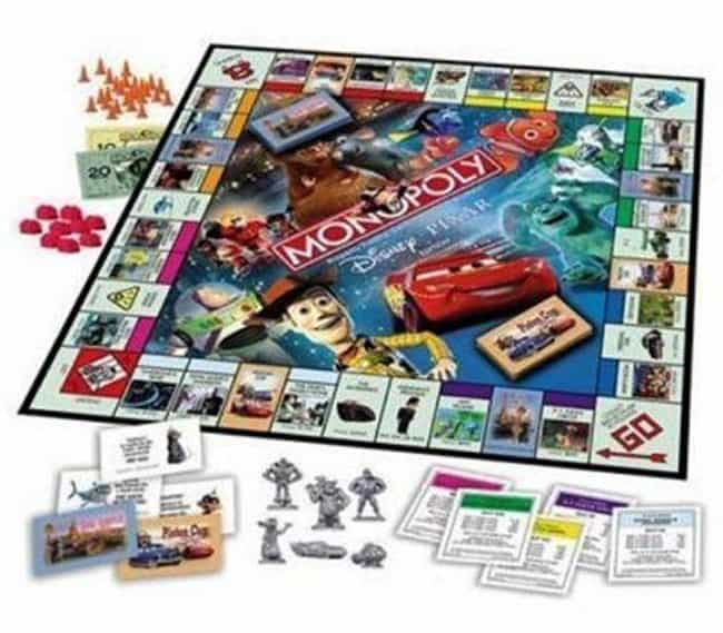 Pixar is listed (or ranked) 8 on the list The Best Editions of Monopoly