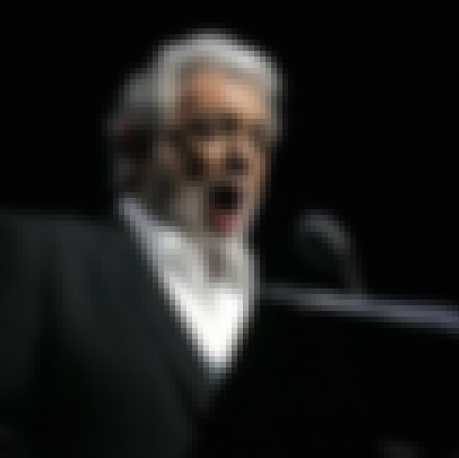 Plácido Domingo is listed (or ranked) 3 on the list Famous Male Opera Singers