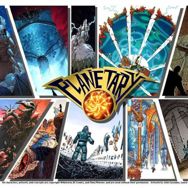 Planetary is listed (or ranked) 5 on the list Comic Books That Would Make Great Cartoons
