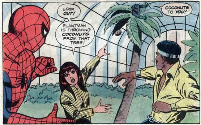 Plantman is listed (or ranked) 2 on the list The All Time Lamest Spider-Man Villains