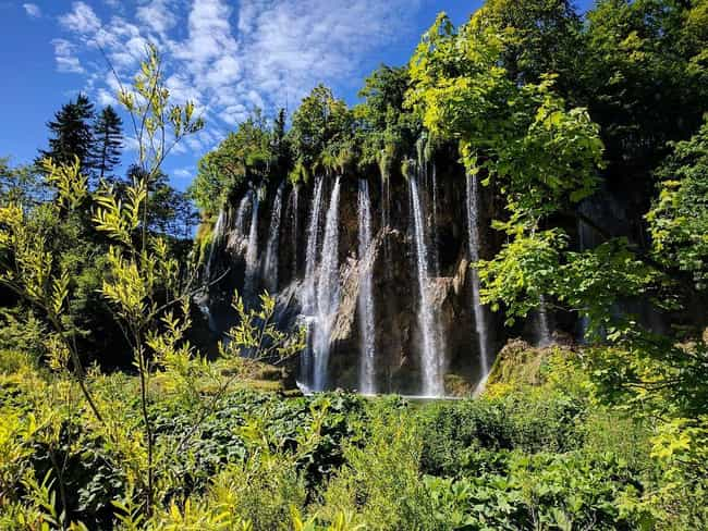 Plitvice Lakes National Park is listed (or ranked) 2 on the list The Most Beautiful Places in Europe