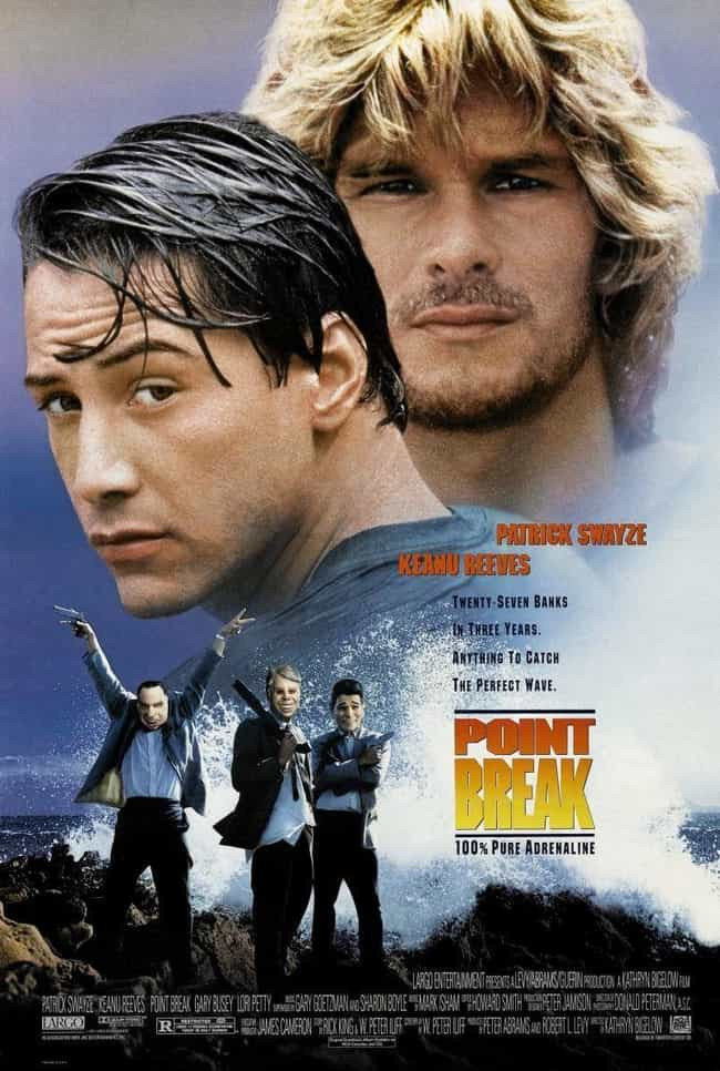 Point Break is listed (or ranked) 3 on the list What to Watch If You Love Baby Driver