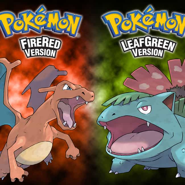 Pokémon FireRed and LeafGreen is listed (or ranked) 2 on the list The Best Pokémon Game Boy Games, Ranked