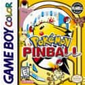 Pokémon Pinball is listed (or ranked) 8 on the list The Best Pinball Games of All Time