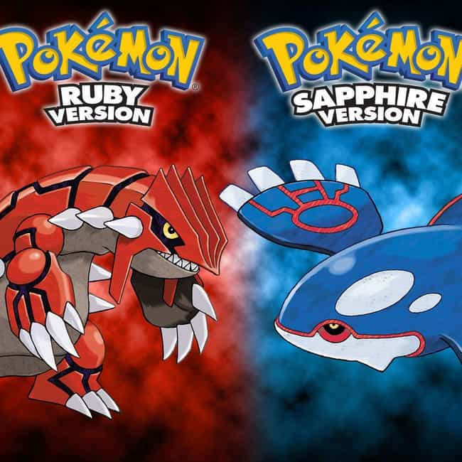 Pokémon Ruby and Sapphire is listed (or ranked) 1 on the list The Best Pokémon Game Boy Games, Ranked