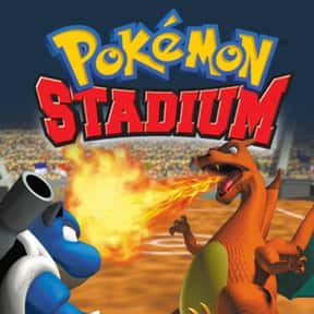 Pokémon Stadium is listed (or ranked) 8 on the list The Best Nintendo 64 RPGs