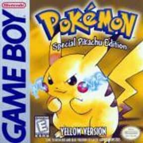 Pokémon Yellow is listed (or ranked) 14 on the list The Best Games That Never End