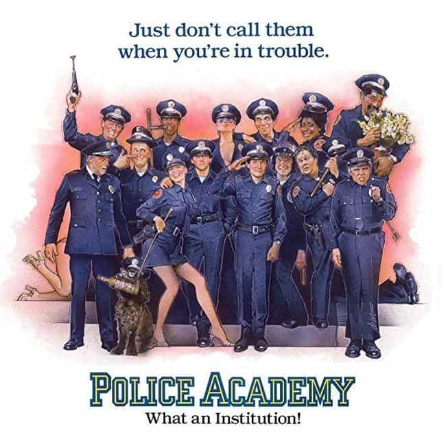 Police Academy is listed (or ranked) 4 on the list The Best Police Academy Movies