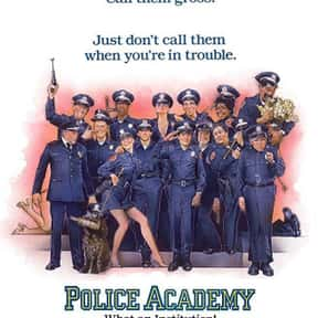Police Academy is listed (or ranked) 24 on the list The Greatest Party Movies Ever Made