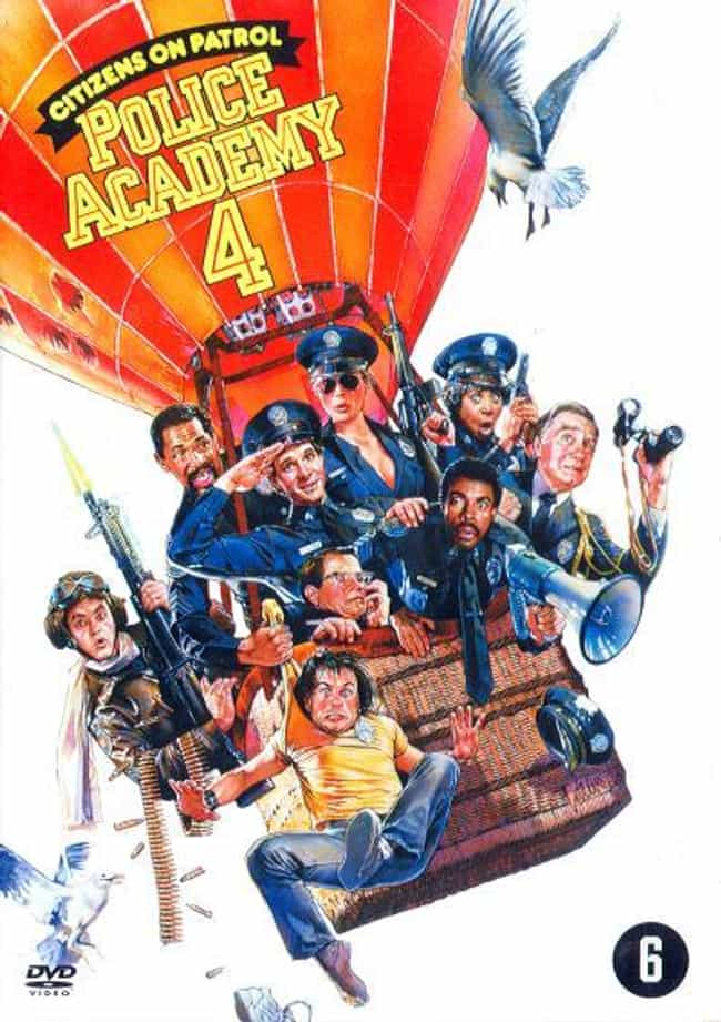 Police Academy 4: Citizens on ... is listed (or ranked) 4 on the list The Best Police Academy Movies