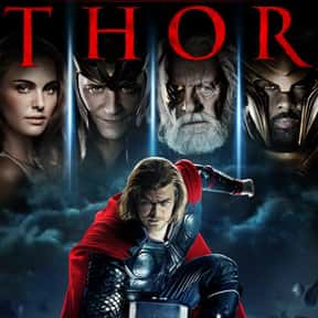 Thor is listed (or ranked) 8 on the list The Best PG-13 Fantasy Movies