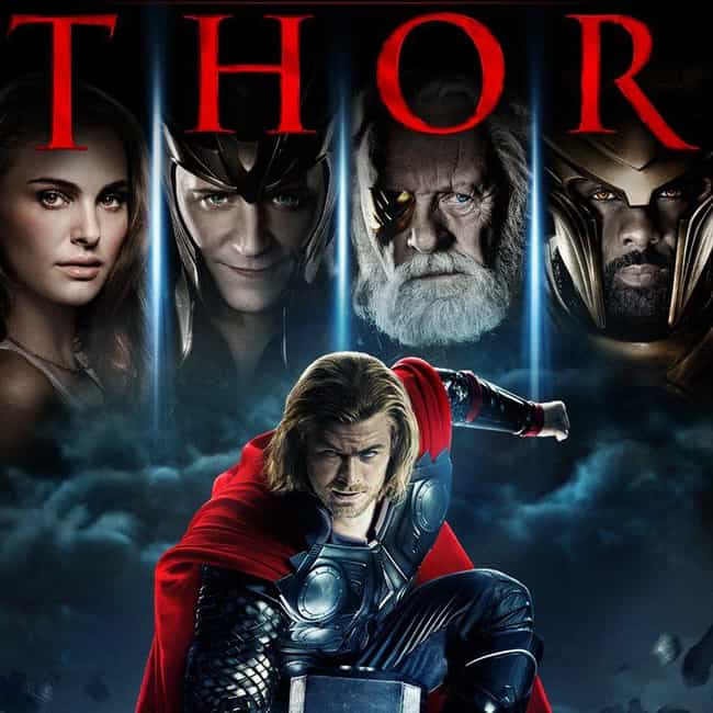 Thor is listed (or ranked) 1 on the list All the Thor Movies in the MCU (And That Other One), Ranked