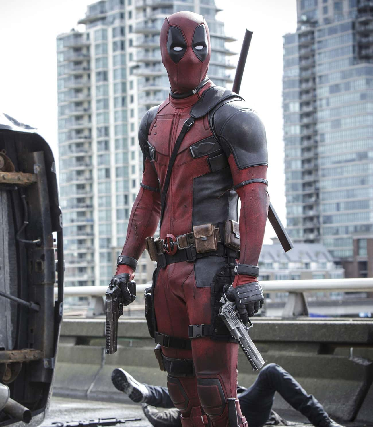 Deadpool — Deadpool is listed (or ranked) 1 on the list The Best Marvel Costume Adaptations Ever