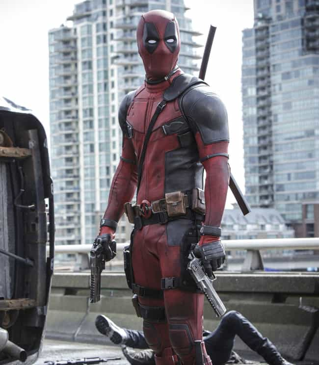 Deadpool is listed (or ranked) 2 on the list The Best Marvel Costume Adaptations Ever