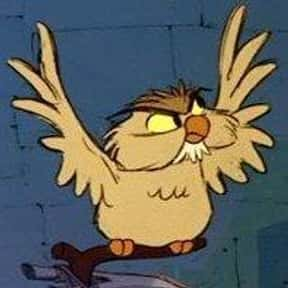 Archimedes the Owl is listed (or ranked) 20 on the list The Greatest Bird Characters of All Time