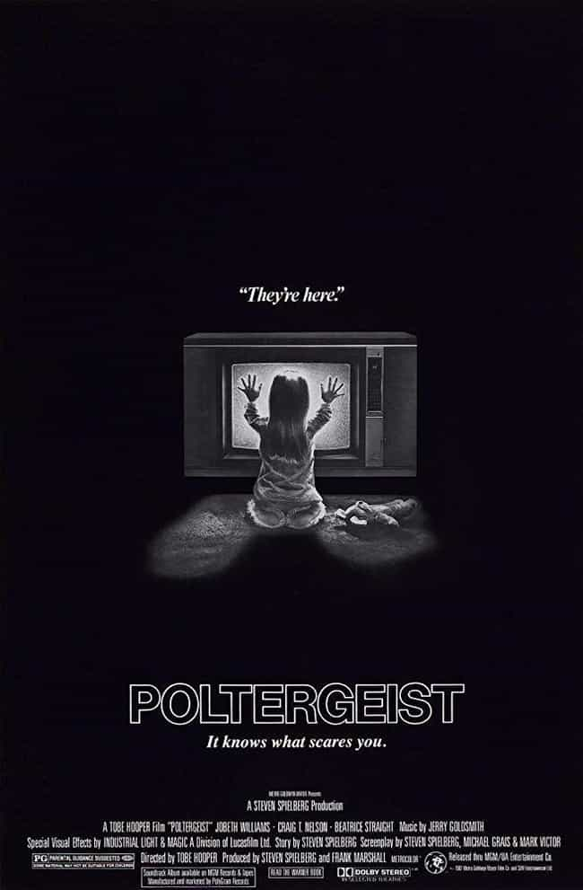 Poltergeist is listed (or ranked) 1 on the list The Scariest Movies In The 'Poltergeist' Franchise