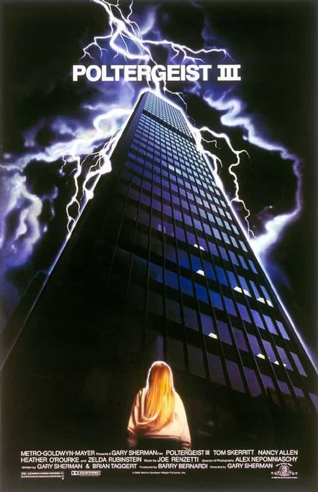Poltergeist III is listed (or ranked) 3 on the list The Scariest Movies In The 'Poltergeist' Franchise